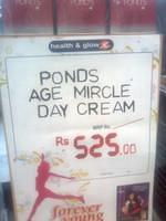 Ponds Age Miracle Cream