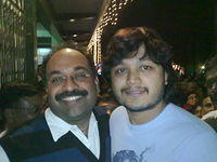 With Kannada Actor Golden Star Ganesh