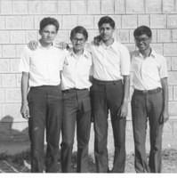 Friends in KVASC, 1982