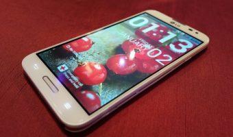 LG phablet. Image courtesy gizbot.com