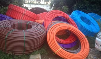 Broadband cables of telcos in Bengaluru