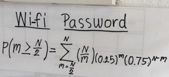 Wifi Password: Wanna Try?