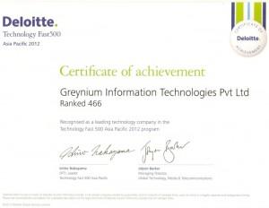 Deloitte Technology Fast 500 Asia Pacific Program