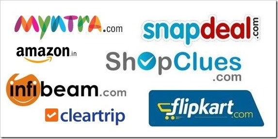 Ecom Brands in India. Image source  https://www.linkedin.com/pulse/20141018173150-161464176-indian-e-commerce-train