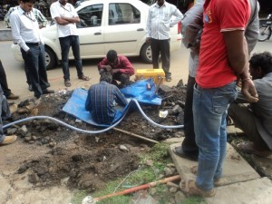 Internet cable cut in Bangalore