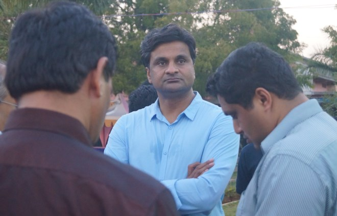 Mysore Express Javagal Srinath in a pensive mood