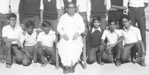 KVASC Bangalore classmates with Dr. DN Mishra in 1982