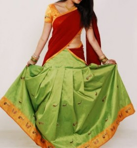 Langa Dhavani dress