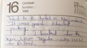 Leaving SJCE in 1988