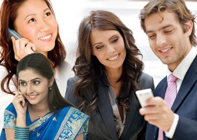 Mobile usage across the world