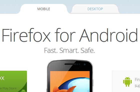 Mozilla main page