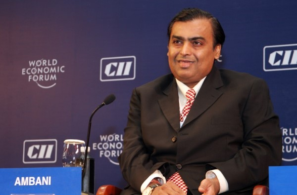 Mukesh Ambani. Image source wikipedia