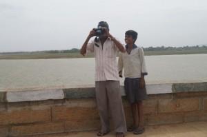 Markonahalli Dam near Yediyur in Karnataka