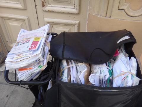 Postman Cart in Nice, France