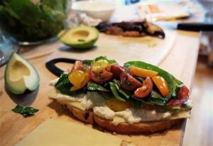 Sandwich. Photographer Julien Sister