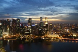 Singapore Skyline, image provided by guest author
