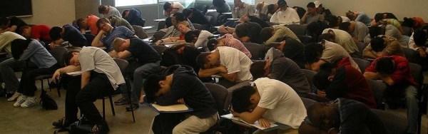 Sleepy Class. Image source.http://blogs.browardpalmbeach.com