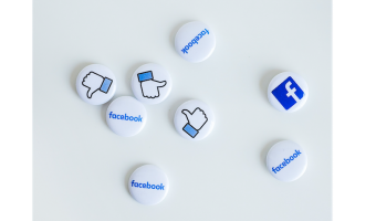 Social Media icons. Photo by NeONBRAND on Unsplash