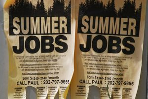Summer Jobs - photo courtesy mainstreet.com