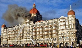 Taj Hotel attacked during Mumbai attack