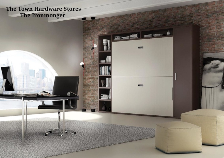 Murphy Bed, Wall Bed from http://www.theironmonger.in/