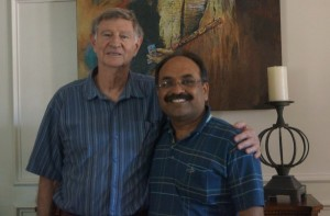 With Dr. Stokely in Dallas